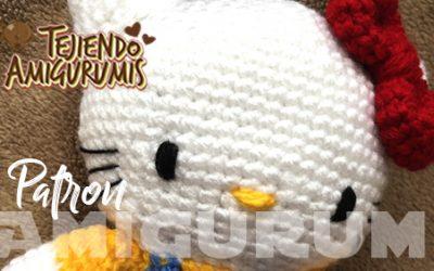 Hello kitty Patron Amigurumi
