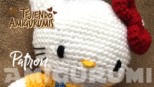 Hello kitty Patron Amigurumi