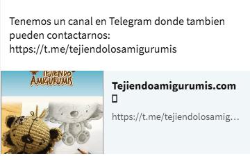 Siguenos en canal de Telegram, estamos a sus ordenes!!!
